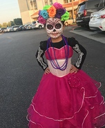 Day of the Dead Princess Homemade Costume