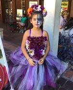 Day of the Dead Wedding Flower Girl Homemade Costume