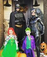DC Family Homemade Costume
