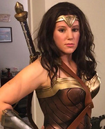 DCEU Wonder Woman Homemade Costume