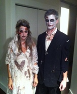 Dead Bride and Groom Costume