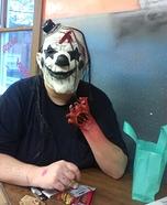 Dead Clown Homemade Costume