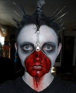 Zipper face costume ideas - Dead Corpse Zipper Face Halloween Costume