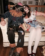 Dead Dorothy and Dead Scarecrow Homemade Costume