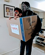 Dead man in a box Homemade Costume