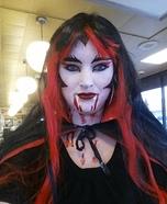 Deadly Vampire Homemade Costume