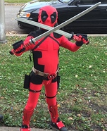 Deadpool Homemade Costume