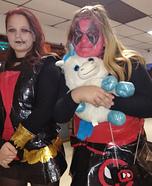Deadpool and Black Widow Homemade Costume