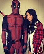 Deadpool & Vanessa Homemade Costume