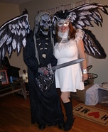 Death and Angel Homemade Costume