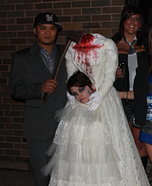 Decapitated Bride Homemade Costume