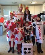 Deck of Cards Homemade Family Costume