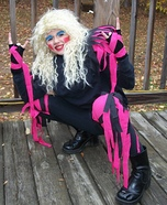 Dee Snider from Twisted Sister Homemade Costume