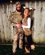 Coolest couples Halloween costumes - Deer and Hunter Costume