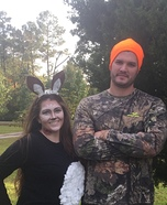 Deer and Hunter Couple Costumes