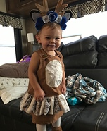 Deer Baby Homemade Costume