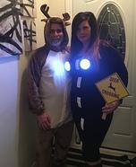Deer in the Headlights Homemade Costume