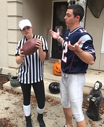 Deflate Gate Couple Homemade Costume