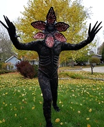 Demogorgon Homemade Costume