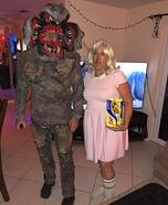 Demogorgon & Eleven Homemade Costume