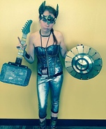 Demolition Rock Goddess Homemade Costume