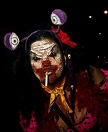 Demonic Clown Homemade Costume