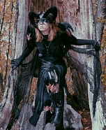 Demonic Sorceress Homemade Costume