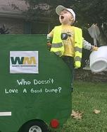 Dempsey's Dump Truck Homemade Costume