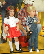 Dennis the Menace and Margaret Homemade Costume
