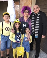 Despicable Family Homemade Costume