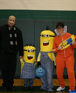Homemade Despicable Me Costumes