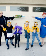 Despicable Me 2 Family Homemade Costume