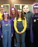Despicable Me 2 Group Homemade Costume