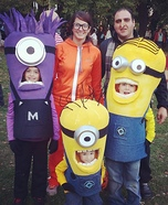 Despicable Me Family DIY Costume