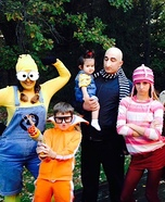 Despicable Me Family Homemade Costume