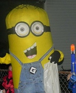 Homemade Despicable Me Minion Costume
