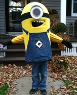 Despicable Me Minion Homemade Costume