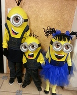 Despicable Me Minions Homemade Costume
