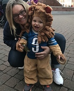 Detroit Lion Homemade Costume