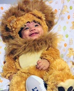 Detroit Lion Baby Halloween Costume