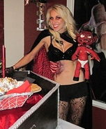 Devil Baby Costume