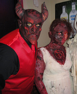 Scary Halloween costume ideas - Devil & Burning Soul
