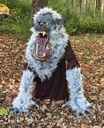 Devil Wolf Homemade Costume