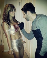 Dexter and his Victim Homemade Costume