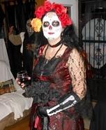 Women's Dia de Los Muertos Costume