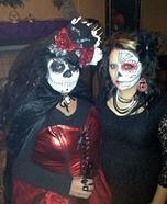 Dia de los Muertos Homemade Costume
