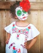 Dia de los Muertos Sugar Skull Homemade Costume