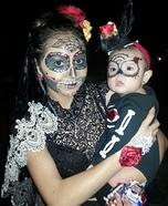 Dia de los Muertos Sugar Skulls Homemade Costume