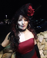 Diamond Sugar Skull Queen Homemade Costume