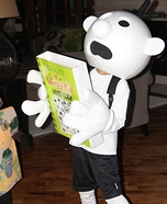 Diary of a Wimpy Kid Homemade Costume